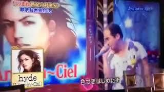 トレンディエンジェルの斎藤さんが歌う hyde(L'Arc~en~Ciel)のwinter fall.