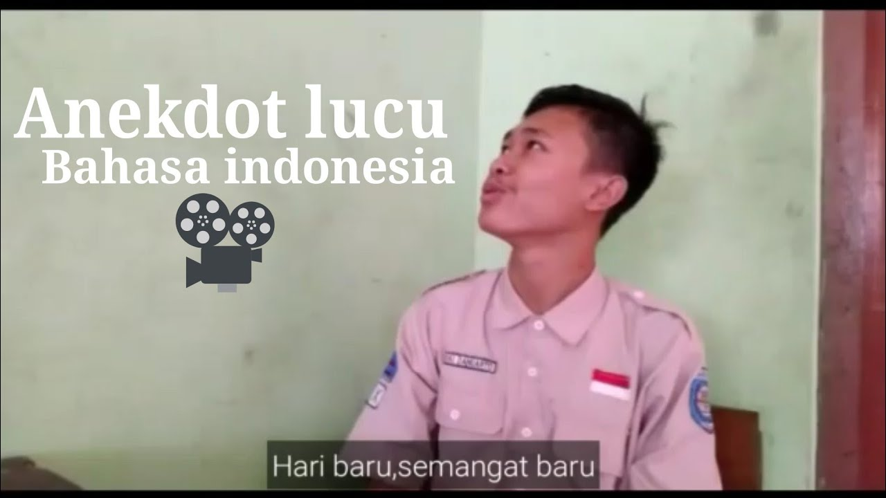 KOCAK Video Anekdot Bahasa Indonesia 5 Orang