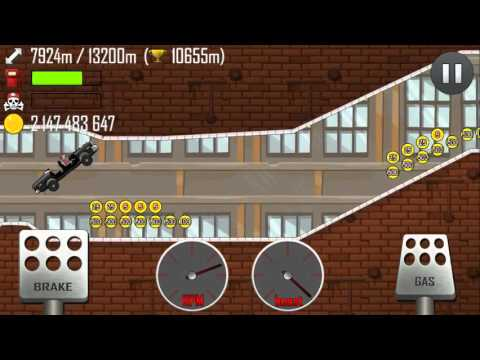 Hill Climb Racing - Police Car 17968m on Factory