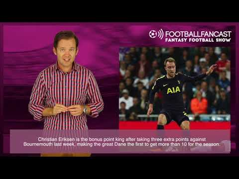 FootballFanCast's Fantasy Football Show - Best Points Per Game (GW 9)