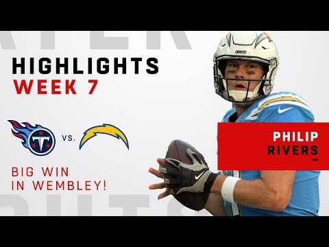 Philip Rivers Lights Up London w/ 306 Yards & 2 TDs