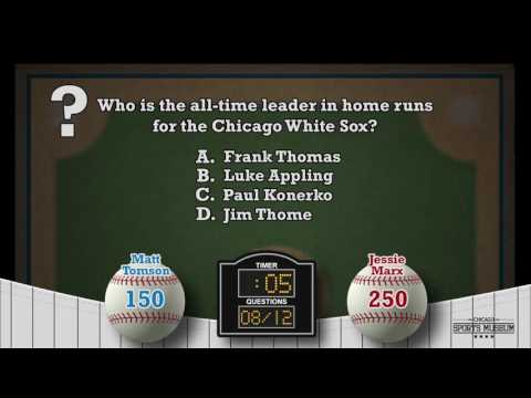 Chicago Sports Museum: Fan Zone Trivia Animation Concept