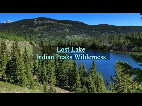 Lost Lake from Hessie Trailhead - YouTube