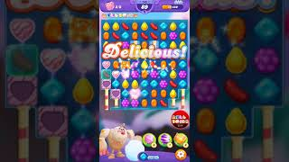 Candy Crush Friends Saga Level 143 Gameplay w/boosters