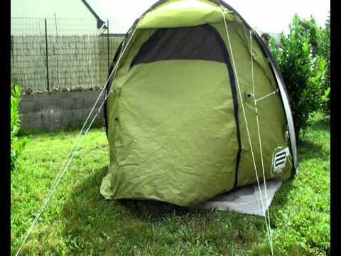 montage tente quechua 4 places 2 seconds xxl iiii youtube. Black Bedroom Furniture Sets. Home Design Ideas