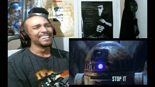 Seagulls! (Stop It Now) A Bad Lip Reading of The Empire Strikes Back - REACTION