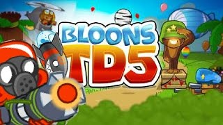 Bloons TD5 - Ray of Doom VS All Boss Bloons