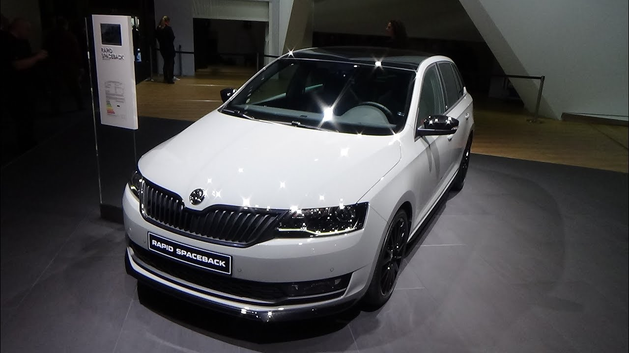 2018 Skoda Rapid Spaceback Monte Carlo Exterior And Interior Iaa