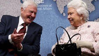 Serie über Müll in den Ozeanen: Queen ehrt Naturfilmer Sir Richard Attenborough
