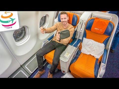 Mit der Aeroflot Business Class im A330 von Moskau nach Seoul | GlobalTraveler.TV