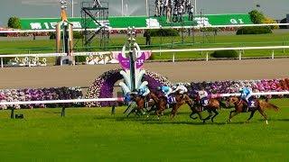 現地映像、レインボーライン・岩田騎手が天皇賞春勝利。ファンファーレから、京都競馬場