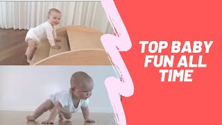 """Top  Funny baby of """"all Time"""""""