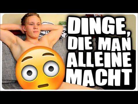 DINGE DIE MAN ALLEIN ZUHAUSE MACHT!