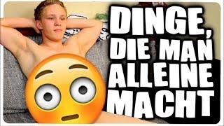 DINGE DIE MAN ALLEIN ZUHAUSE MACHT! thumbnail