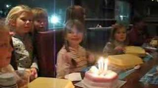 Connie Talbot celebrates 7th Birthday