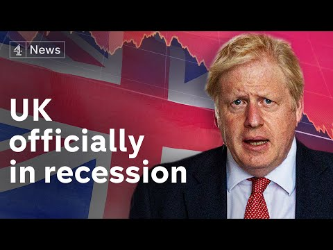 UK plunges into worst recession on record – after impact of Coronavirus