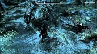 TESV: Skyrim. Полеты и сражения на драконах.