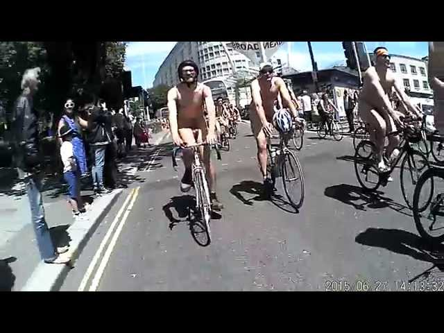 Bristol World Naked Bike Ride 2015