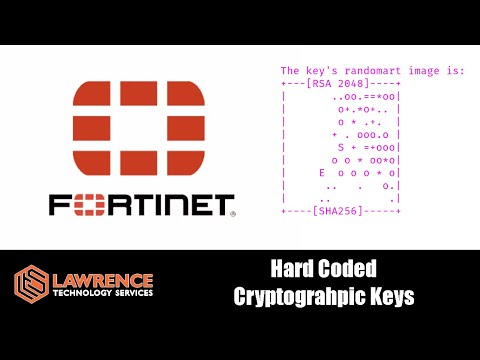 Fortinet Firewall Security Flaws From Their History of Hard Coding Cryptographic Keys