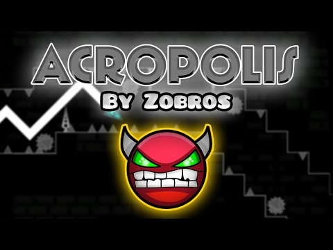 Geometry Dash [2.0] (Demon) - ACROPOLIS by Zobros [LIVE!] - GuitarHeroStyles