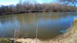 Открытие сезона на донную снасть Рыбалка на реке 2020