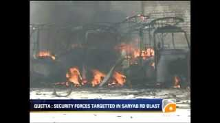 Geo News Summary - Quetta - Blast on Saryab Road