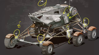 MIT Engineer Reviews Concept Art: Moon Rover