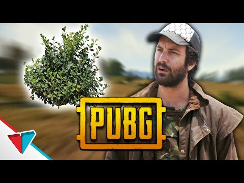 Bush - PUBG Logic - VLDL (bush or enemy??)