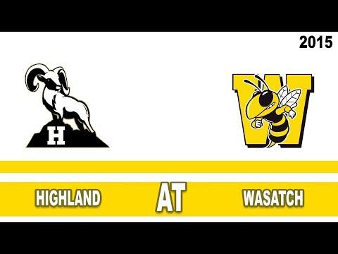 Girls Basketball: Highland at Wasatch High School Utah 2015
