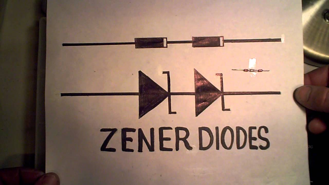 Zener Diodes In Series