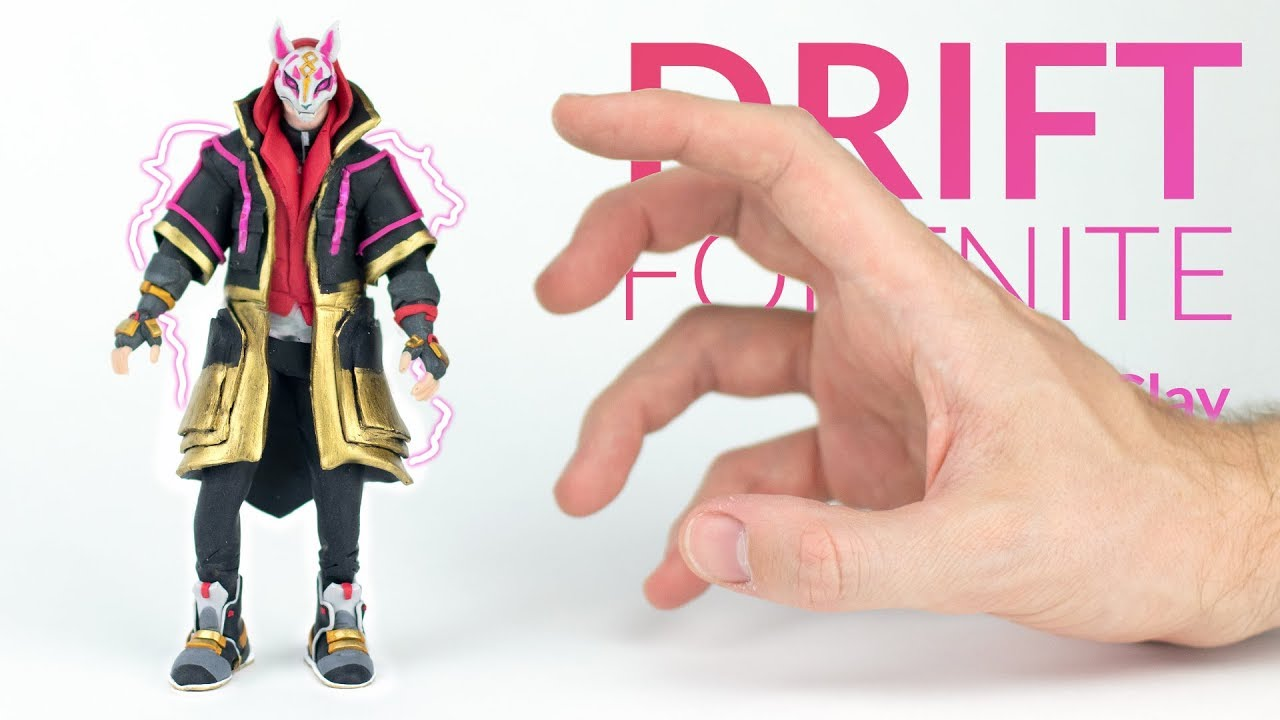 Drift Fortnite Battle Royale Polymer Clay Tutorial Youtube
