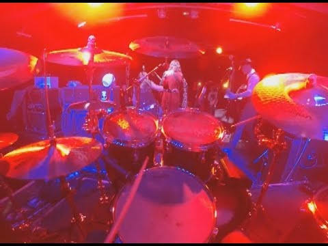 FyreSky - Red Velvet Rope - 1st Person Drum Cam - Live At The Craufurd Arms 07/12/2017