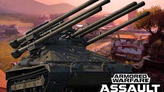 SIX GUNS ONE TANK!!! | Ontos Gameplay - Armored Warfare Assault