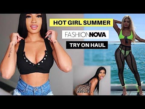HOT GIRL SUMMER!!! | $800 FASHION NOVA TRY ON HAUL
