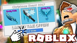 THE NEW MURDER MYSTERY 2 CHRISTMAS UPDATE!! *GODLY KNIVES & GUNS!* (Roblox)