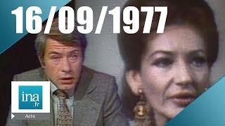 20h TF1 du 16 septembre 1977 - Mort de Maria Callas   Archive INA