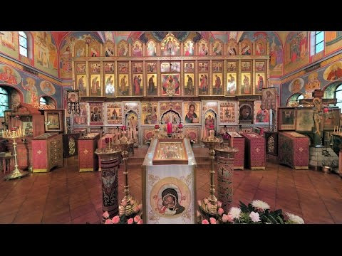 2015.06.21. Sunday All Saints of Great Britain and Ireland. Liturgy (in English)