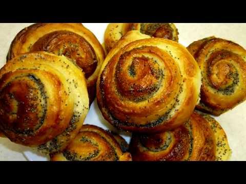 Обалденные Сдобные БУЛОЧКИ домашние, вкусные. Простой рецепт! Пышные булочки из дрожжевого теста.