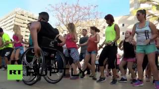 Spain: Dancing on wheels! Meet the first wheelchair-bound Zumba instructor