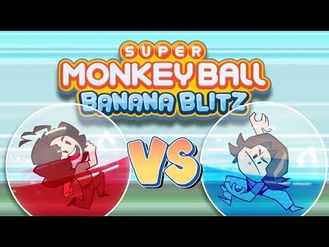 Monkey Ball Banana Blitz: Cursed Controls - Game Grumps VS