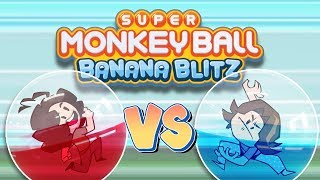 Monkey Ball Banana Blitz: Cursed Controls - Game Grumps VS