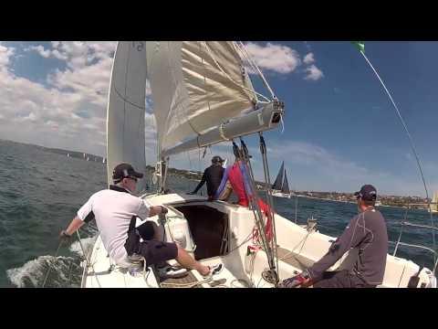 EDV in 2014 Sydney Beneteau Cup race 2