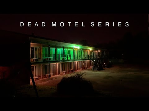 DEAD MOTEL SERIES : SCARY SPOTS : ABANDONED HOLIDOME + GREEN GHOST MOTEL