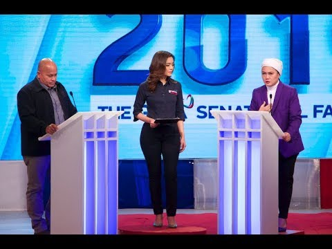 Tapatang Gen. Ronald 'Bato' Dela Rosa at Samira Gutoc | #Debate2019