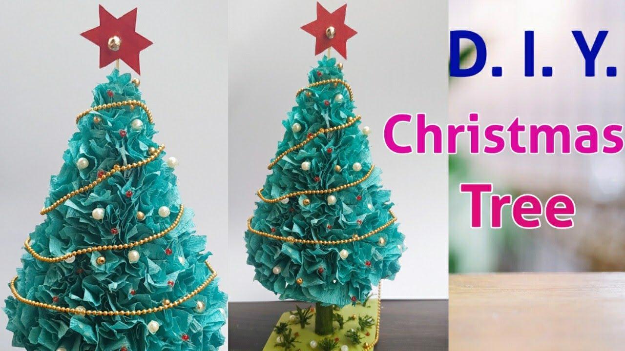 3d Paper Christmas Tree How To Make 3d Xmas Tree Latest Christmas Tree Ideas Quarantine Crafts Youtube