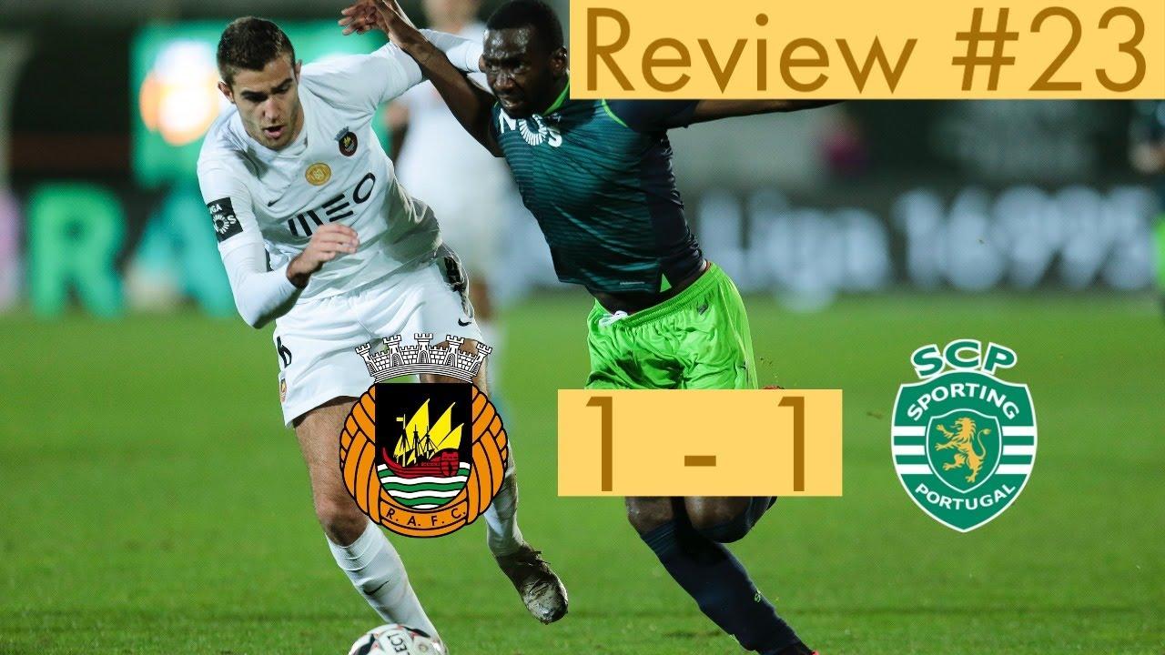 #23 Review - Rio Ave vs Sporting - Liga Portuguesa