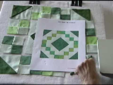 Irish Chain Quilt Block - YouTube : irish quilt tutorial - Adamdwight.com