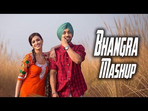Non stop Bhangra Mega Mix 2017  -  Punjabi...