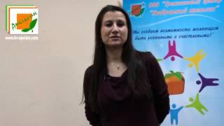 Ассистенты о тренинге «Радость воспитания»: Настя