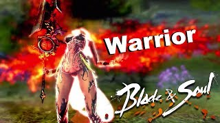 Blade & Soul Warrior New Class 48-50 Leveling and Training Ground
